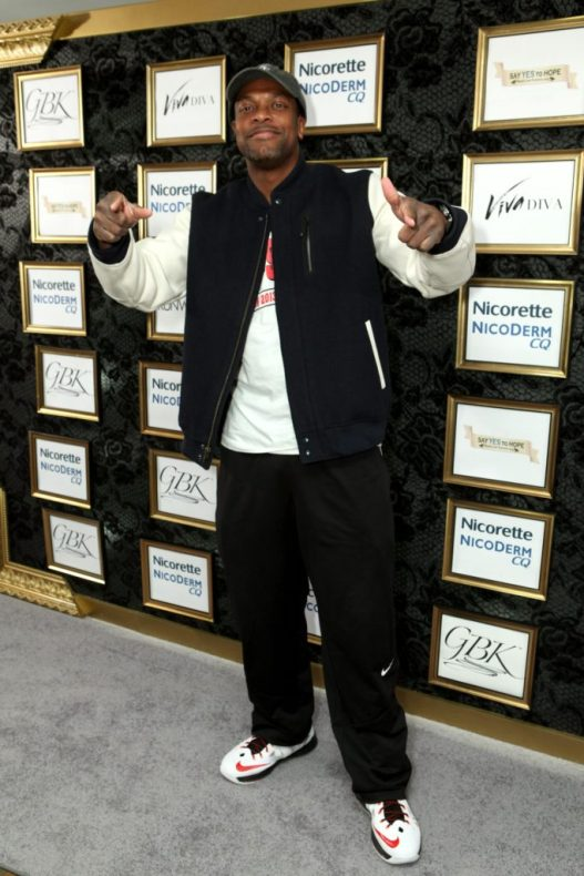 Actor Chris Tucker (Silver Linings Playbook) attends the GBK Oscars Gifting Suite at the Sofitel Hotel on February 22, 2013 in Los Angeles, California.