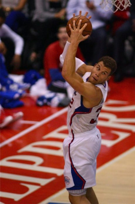 Blake Griffin and his pals on the Clippers are coming the homestretch of the NBA's regular season. Photo Credit: Jon Gaede/News4usonline.com