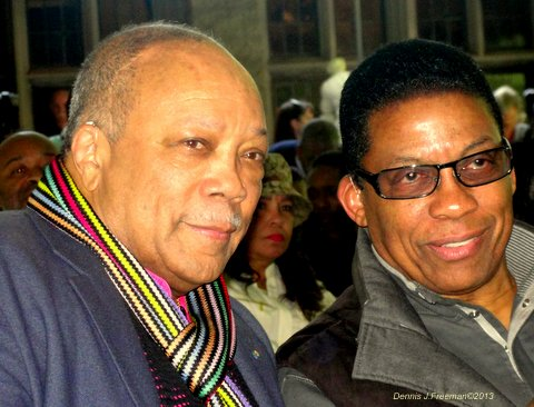 Quincy Jones and Herbie Hancock will be performing at this year's Playboy Jazz Festival. Photo Credit: Dennis J. Freeman