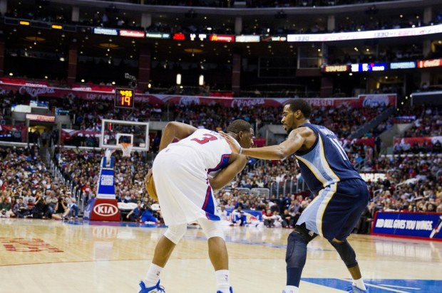 Chris Paul and the Los Angeles Clippers kept Mike Conley and the Memphis Grizzlies in check in Game 1. Photo Credit: Mac Alexander