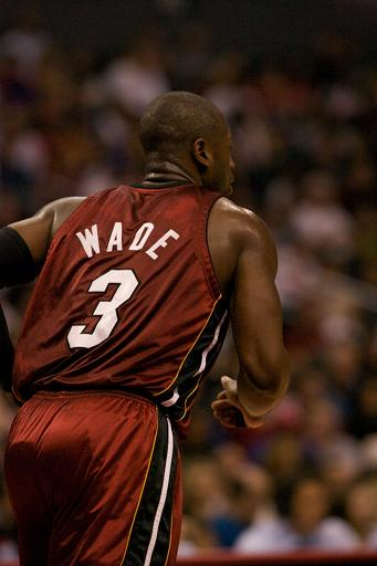 The heart of a lion. Dwayne Wade is still the heart and soul of the Miami Heat. : Photo Credit: Mac Alexander