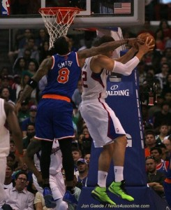 NBA Sixth Man of the Year J.R. Smith is staying put with the New York Knicke. Photo Credit: Jon Gaede / News4usonline.com