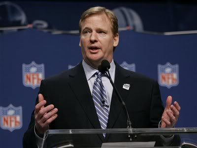 NFL Commissioner Roger Goodell has basically excused himself from the Riley Cooper situation.