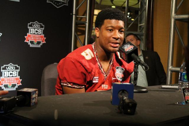 Heisman Trophy winner Jameis Winston is confident that Florida State will prevail in the BCS National Championship game against Auburn. Photo Credit: Dennis Freeman/News4usonline.com