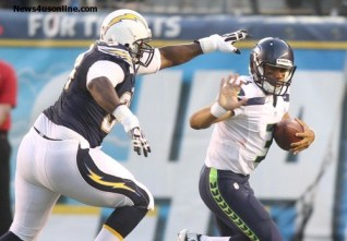 Russell Wilson and the Seahawks are headed to the Super Bowl. Photo Credit: Kevin Reece/News4usonline.com