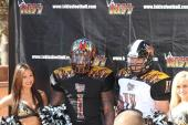 LA Kiss unveil season uniforms to members of the press at media day. Photo: Jevone Moore/News4usonline.com
