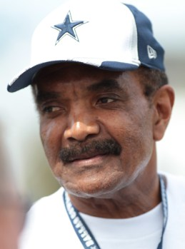 Calvin Hill (Father Grant Hill NBA)-Hill was named to the Pro Bowl team four times (1969, 1972, 1973 and 1974). In 1972 he became the first Cowboy running back to have a 1,000-yard rushing season (with 1,036 yards rushing); he repeated the feat in the following season with 1,142 yards rushing.
