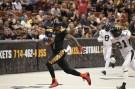 LA Kiss Donovan Morgan on one of his two touchdown grabs. Photo Credit Jordon Kelly /News4usonline.com