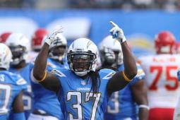 Jahleel Addae and the Chargers defense must pose a stiffer challenge to Peyton Manning and the Denver Broncos offense than they did against Alex Smith and the Kansas City Chiefs. Photo Credit: Kevin Reece/News4usonline.com