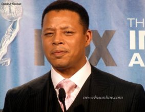 Terrence Howard was rewarded with a NAACP Image Award for his work in Law & Order: LA as Outstanding Supporting Actor in a Drama Series. Photo Credit: Dennis J. Freeman/News4usonline.com