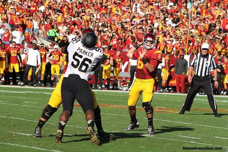 USC quarterback Cody Kessler is having a great season in 2014. Photo Credit: Dennis J. Freeman/News4usonline.com