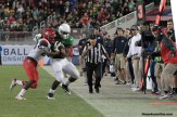Another big play for Oregon against Arizona in the Pac-12 championship game. Photo Credit: Jevone Moore/News4usonline.com