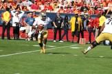 Notre Dame quarterback Everett Golson on the move against USC. Photo Credit: Dennis J. Freeman/News4usonline.com