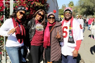 Florida State represented in the house at the Rose Bowl. Photo by Dennis J. Freeman/News4usonline.com