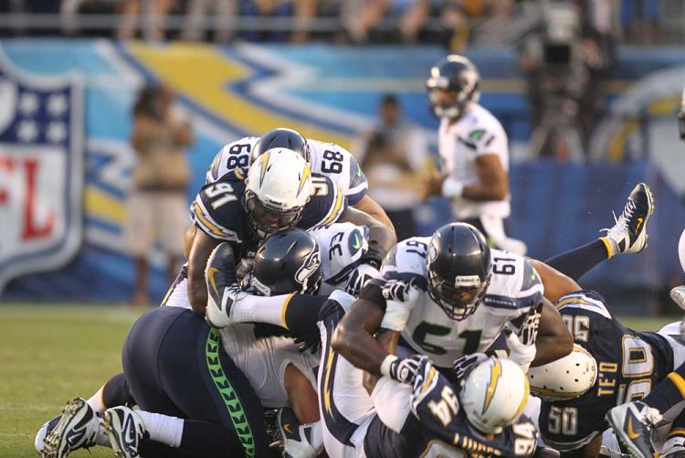 Seattle Seahawks @ San Diego Chargers