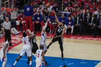Los Angeles Clippers vs San Antonio Spurs