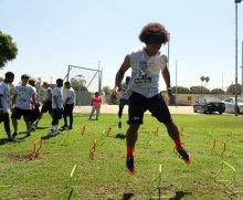 Getting a jump on things. Photo by Dennis J. Freeman/News4usonline.com