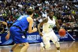 Oregon's Casey Benson on the move.
