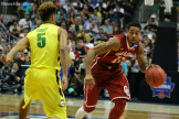 Isaiah Cousins was the playmaker that proved to be too much for the Ducks to handle in the Elite Eight game played at the Anaheim Honda Center.