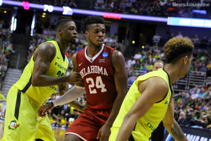 Buddy Hield was the man of the hour against Oregon, scoring 37 points in the Sooners' 80-68 win in the Elite Eight contest.