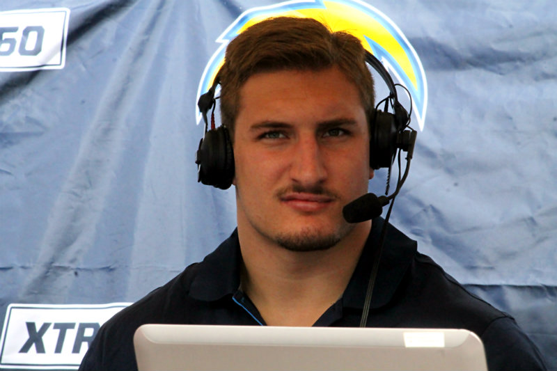 Linebacker Joey Bosa was selected as the No. 3 pick overall in the 2016 NFL Draft. Photo by Dennis J. Freeman/News4usonline.com