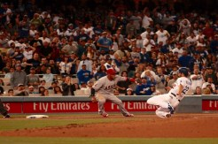 Besides collecting 13 hits, the Dodgers left 12 baserunners on base. Photo by Astrud Reed/News4usonline.com