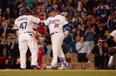 Joc Pederson (31) cracked two home runs in the Dodgers' 5-1 win over the Angels. Photo by Astrud Reed/News4usonline.com