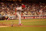 The Angels' bats were kept in check by Clayton Kershaw, who kept the crosstown rival down to four hits. Photo by Astrud Reed/News4usonline.com