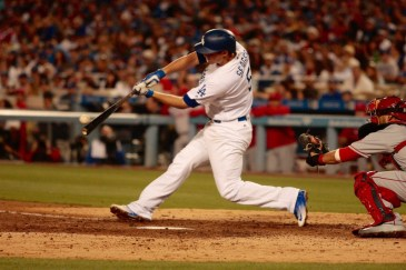 The Dodgers lost two of the three games they played against the Angels during the Freeway Series, but won the second contest by the score of 5-1. Photo by Astrud Reed/News4usonline.com