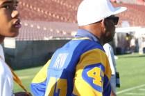 Former defensive back Leroy Irvin. Photo by Astrud Reed/News4usonline