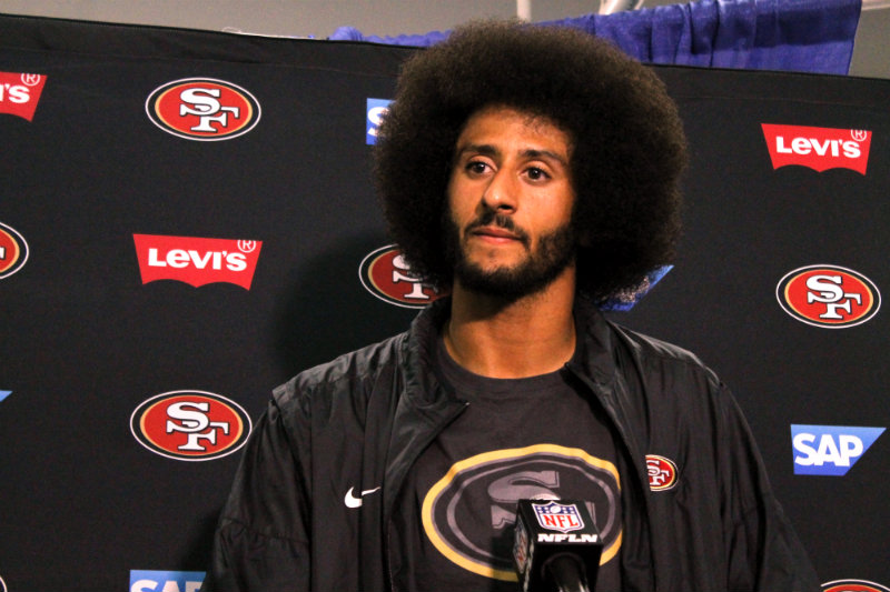 San Francisco 49ers quarterback Colin Kaepernick. Photo by Dennis J. Freeman/News4usonline