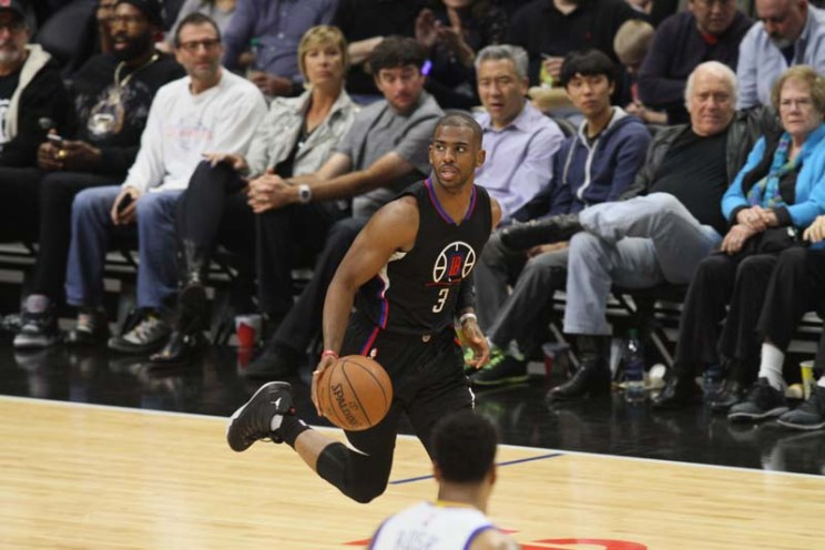 Chris Paul has led the Los Angeles Clippers out of the of the NBA season to a good start. Photo by Kevin Reece/News4usonline.com