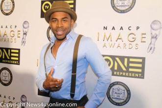 Muisic recording star MAJOR. Photo by Dennis J. Freeman/News4usonline.com