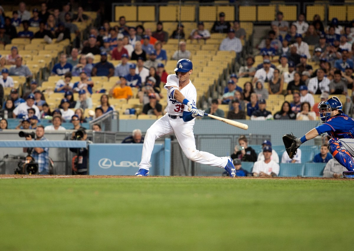Cody Bellinger: Dodgers' man on fire