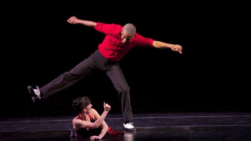 Tap dancing is Marshall Davis Jr.'s partner in rhythm