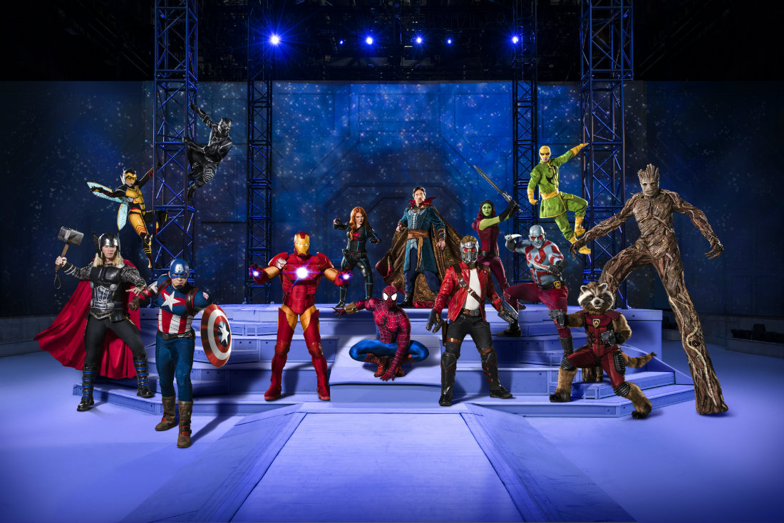Marvel Universe Live! showcases Black Panther
