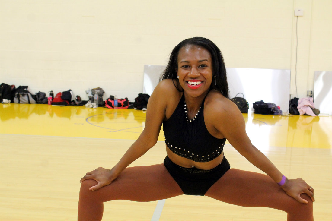 First impression is a lasting one at Laker Girls audition