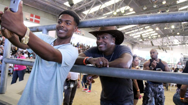 Chris Tucker gets a taste of the black cowboy experience