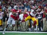 USC was not able to muster much offense against Ohio State in the 82nd Annual Goodyear Cotton Bowl Classic. The Trojans lost to the Buckeyes by the score of 24-7. Photo by Michael Lark for News4usonline