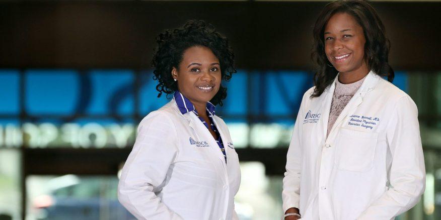 Black doctors make hisory