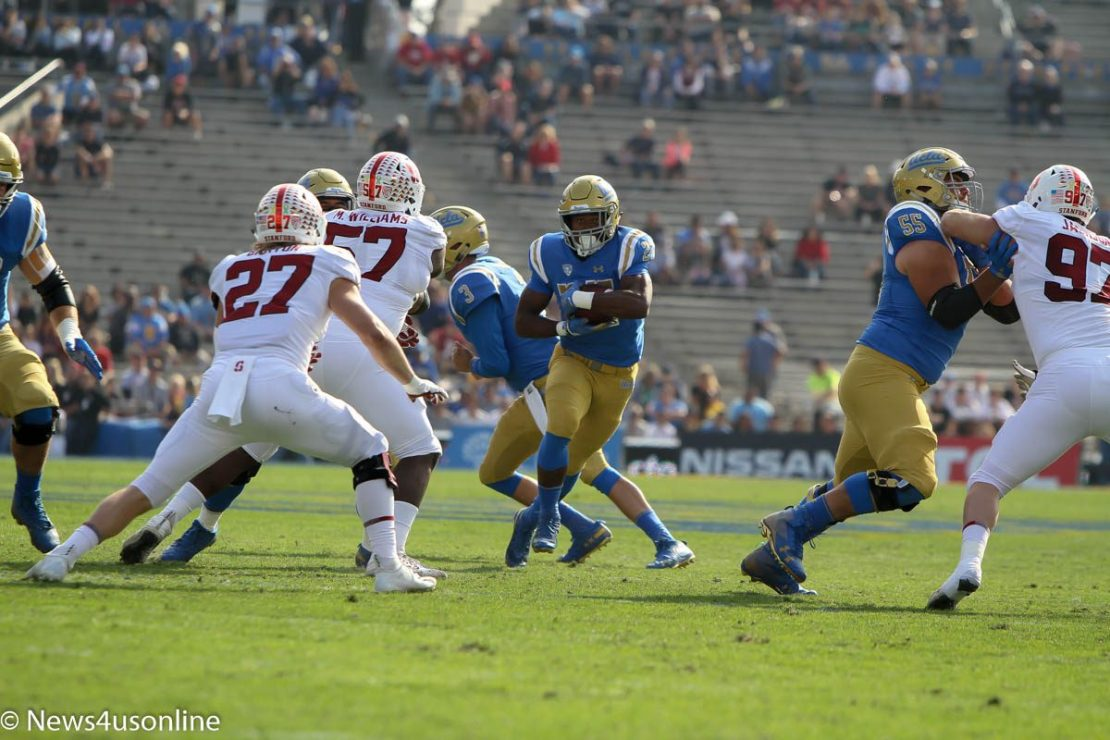 college football at the Rose Bowl
