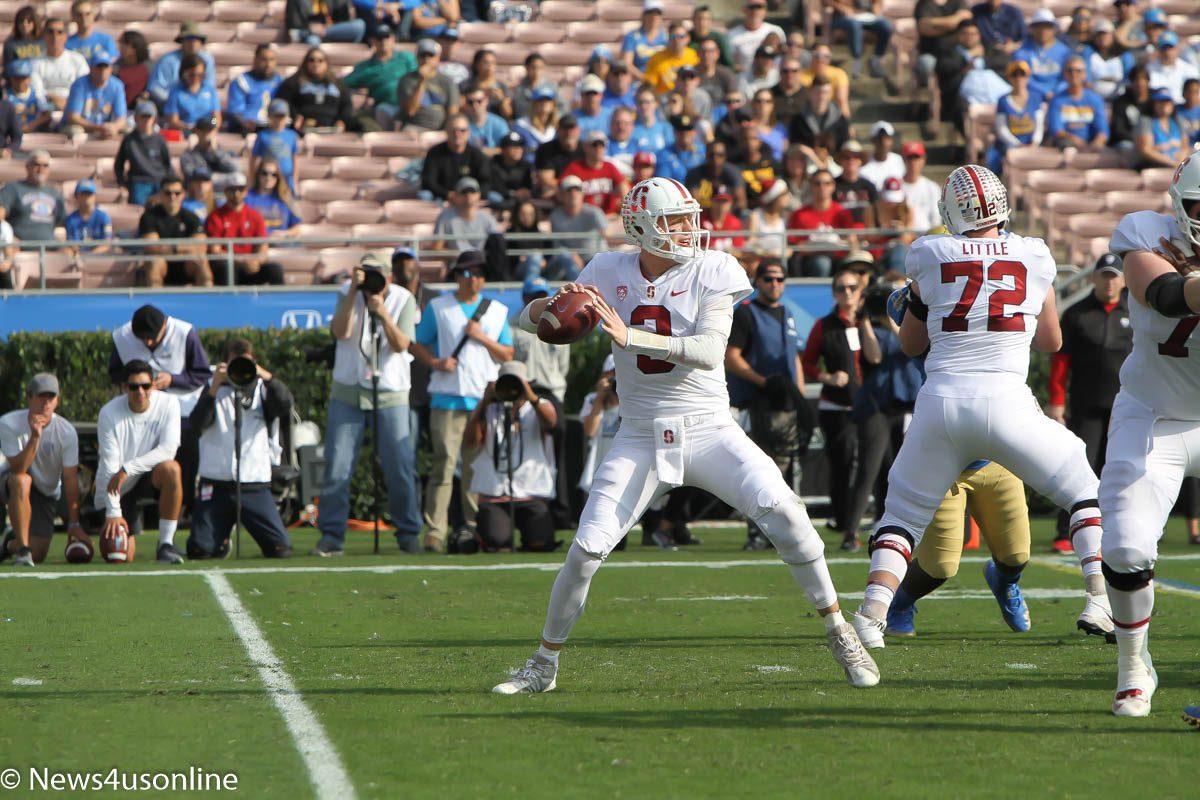 college football at Rose Bowl