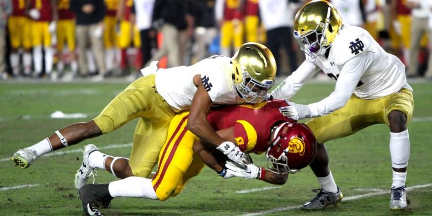 rivalry week: USC-Notre-Dame