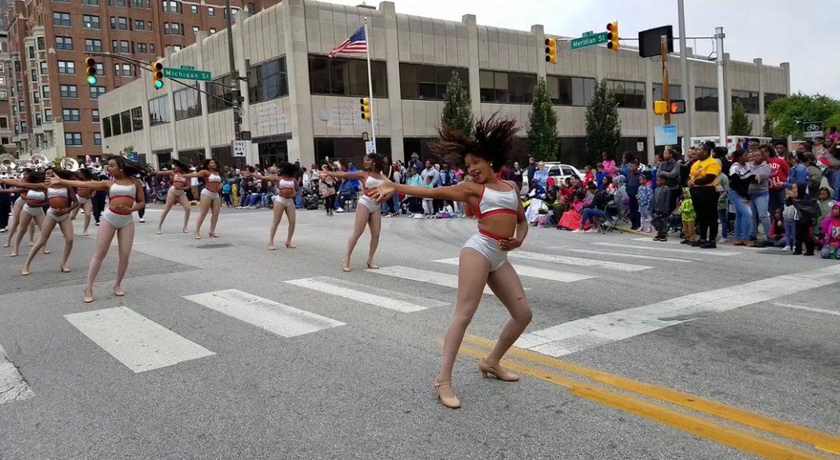 A performance by Howard University's Ooh La La! Dancers