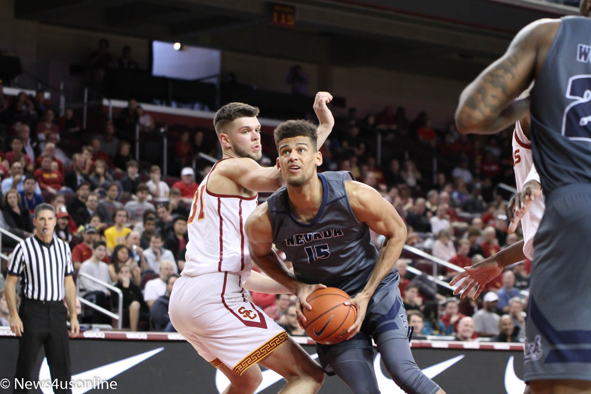 No. 5 Nevada brings the muscle to USC