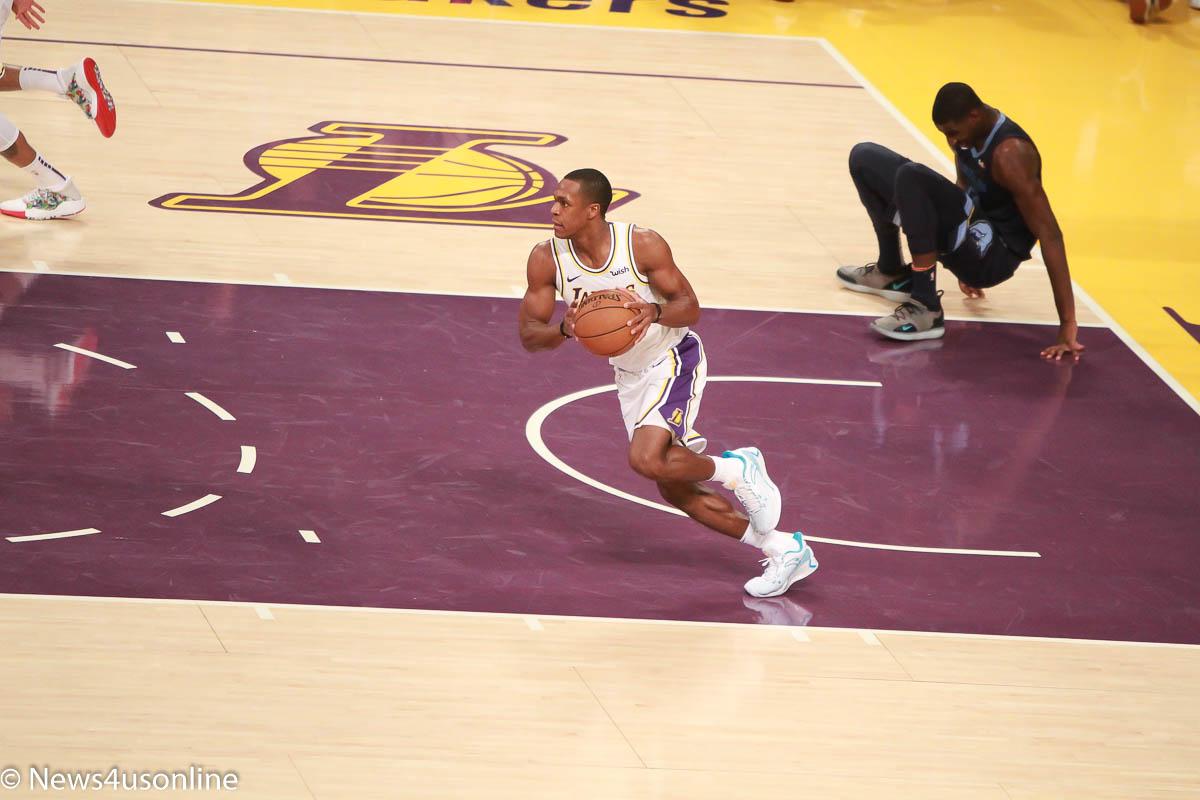 Los Angeles Lakers against the Memphis Grizzlies
