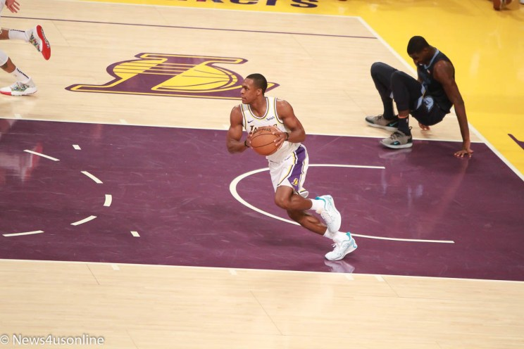 Los Angeles Lakers against the Memphis Grizzlies