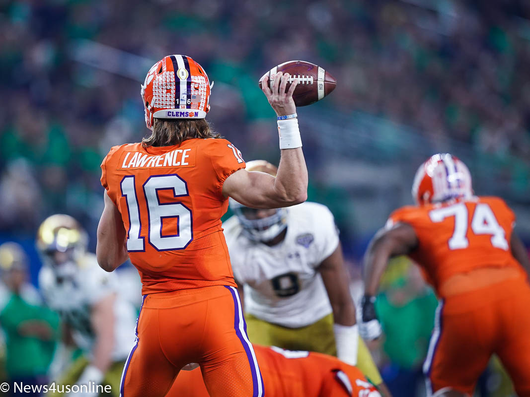 Clemson off to national championship after routing Notre ...