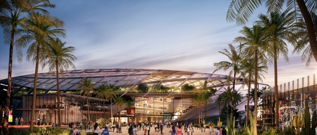 Clippers Arena Inglewood