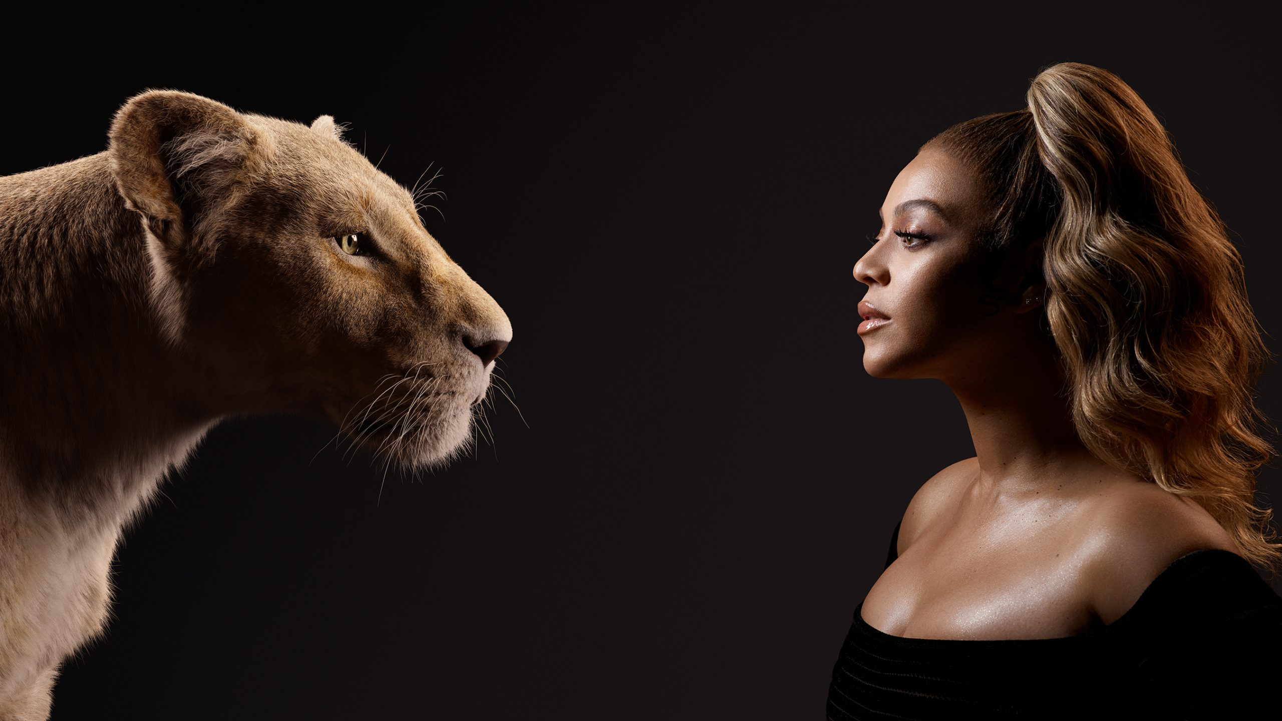 "Beyonce as the voice of Nala in Disney's ""The Lion King."""